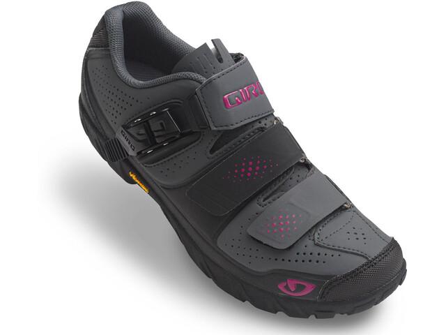 Giro Terradura Shoes Women dark shadow/berry